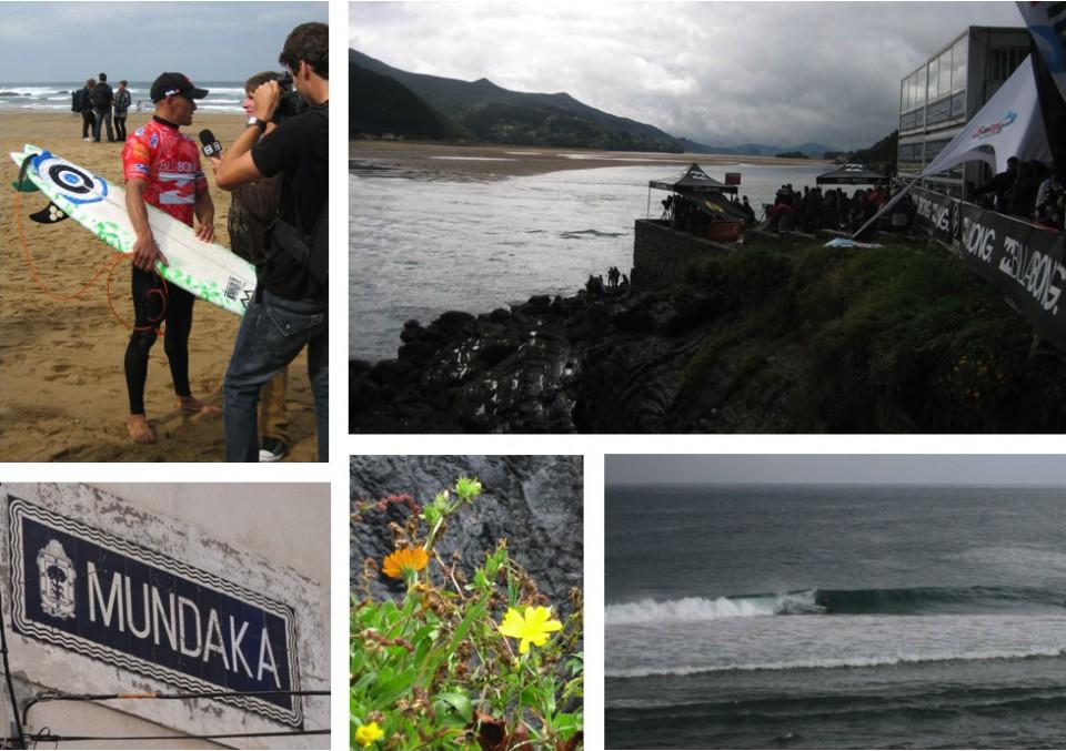 Billabong Pro Mundaka/Sopelana 2008 collage