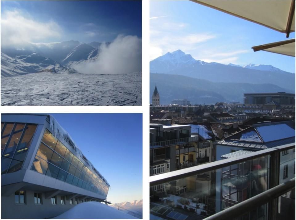snowboarding at Axamer Lizum, Austria 2011