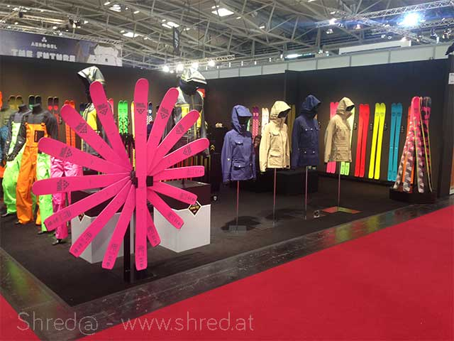 ISPO Munich 2015, Black Crows booth
