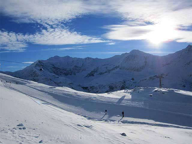 sunny day at Sportgastein
