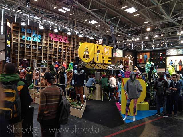 PICTURE and Chiemsee booth at ISPO 2015 Munich, Germany
