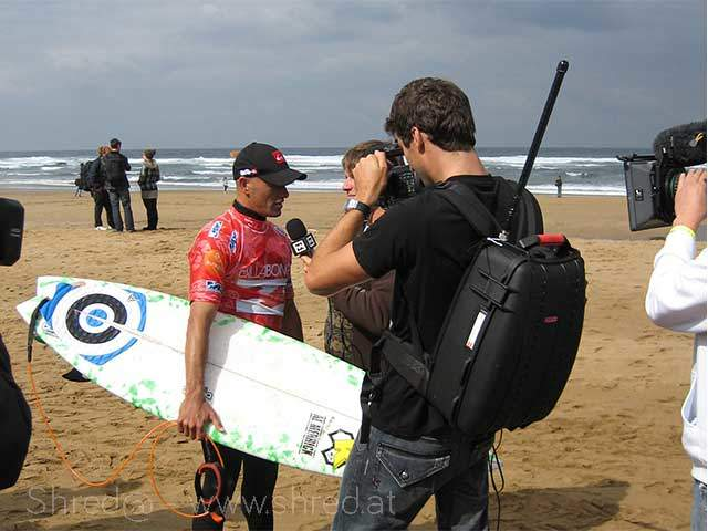 ASP World Champion Kelly Slater at Billabong Pro 2008, Mundaka/Sopelana