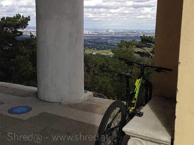 view from Husarentempel at Anninger, Lower Austria