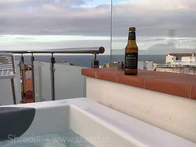 puerto de la cruz tenerife - view from terrace